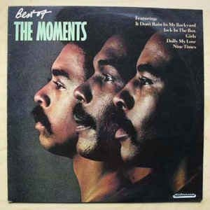 The Moments<br>Best Of The Moments